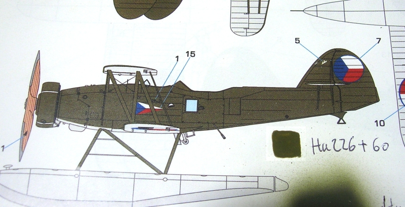 Montage: Letov S328v et dio aquatique - Page 3 Monta381