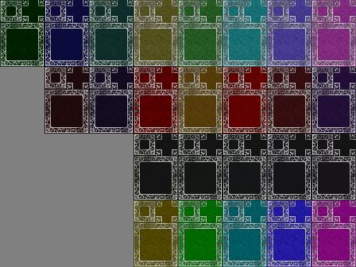 Tapis rouge (RTP) de plusieurs couleurs ! Tapis111