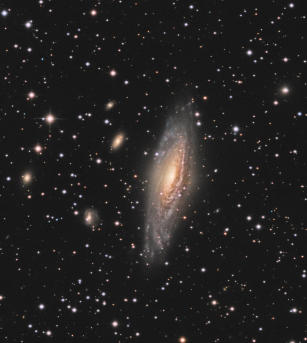 Deer lick Group & le Quintet de Stephan Ngc73310