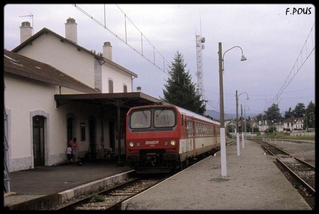 gare de Mont De Marsant Pcb10710