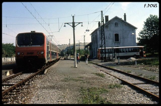 gare de Mont De Marsant Pcb5-210