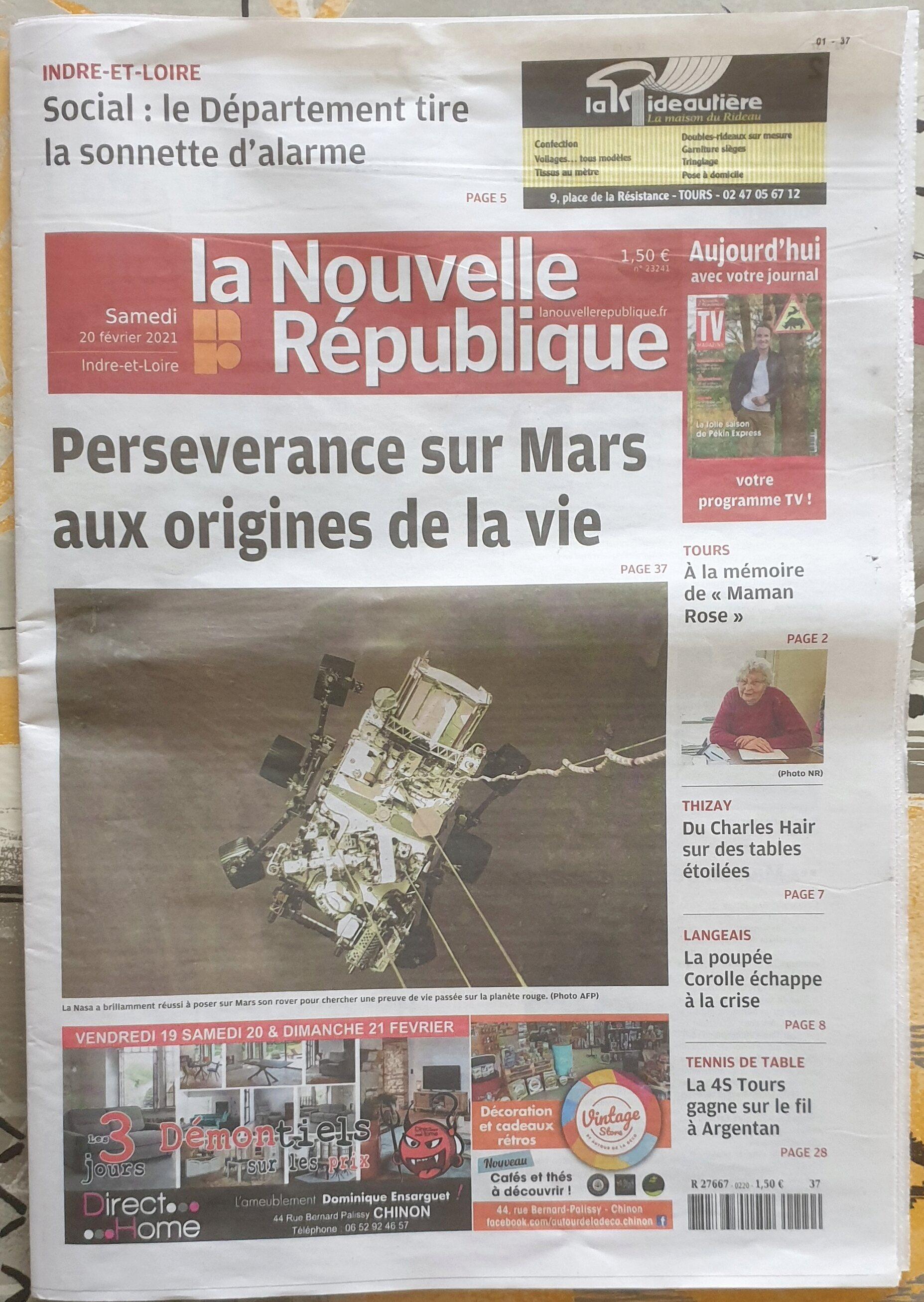 Le spatial dans la presse - Page 12 0112