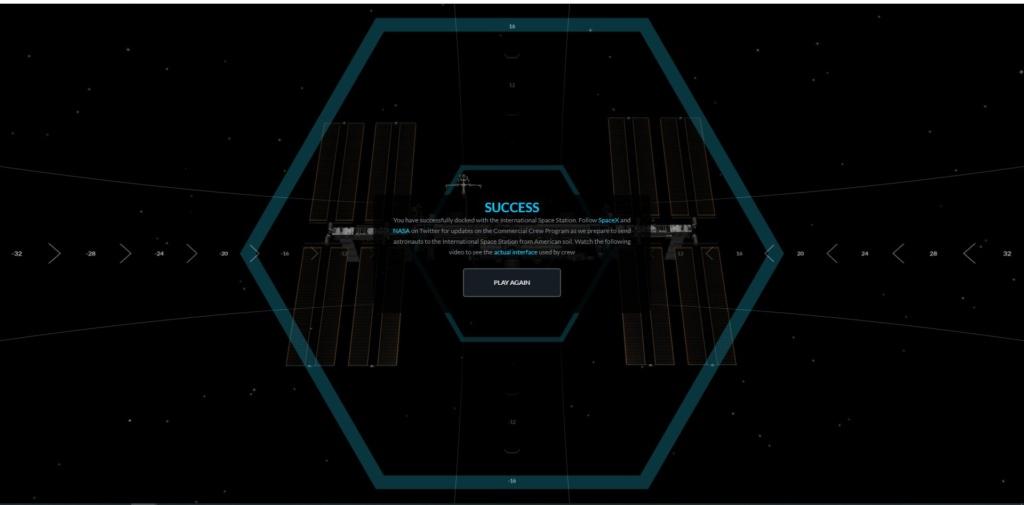 Simulateur d'amarrage du Crew Dragon avec l'ISS Presse29