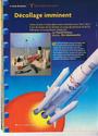 maquette d'Ariane 4 réaliste en bouteille de cola Docume15