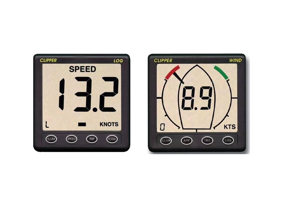 Instruments de navigation pour petit budget Speed-10
