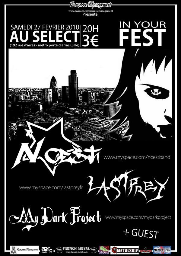 "Le ""In your fest"" avec my dark project et n*cest! 27021010"