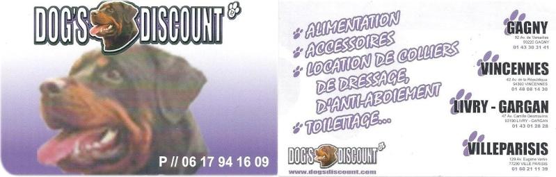 PORTE OUVERTE  ET JOURNEE ADOPTION LE 19 DECEMBRE A GAGNY AVEC DOGS DISCOUNT Dogs_d10