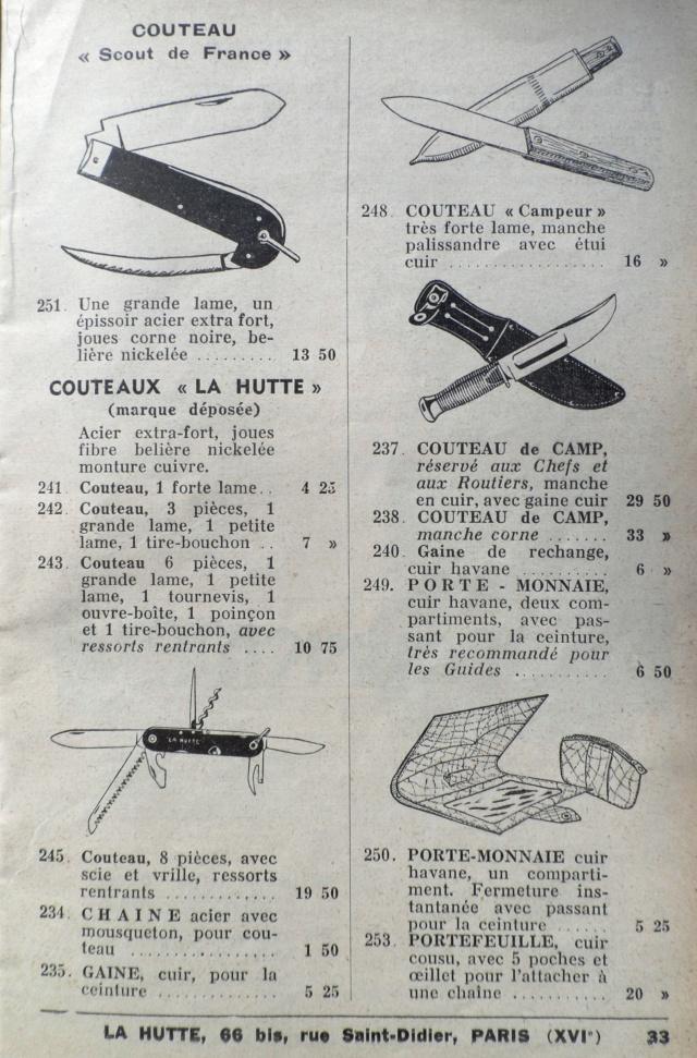 Les couteaux des SCOUTS DE FRANCE du Catalogue LA HUTTE de 1939 Pj_1_s11