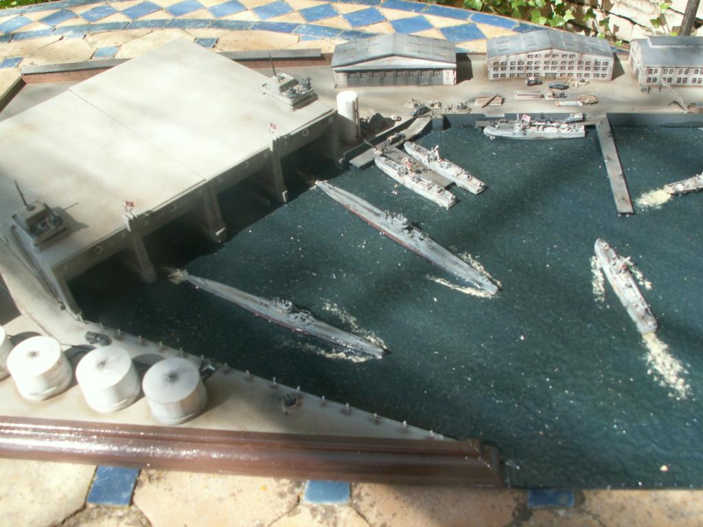 Base U boat 1/700 Pict0210