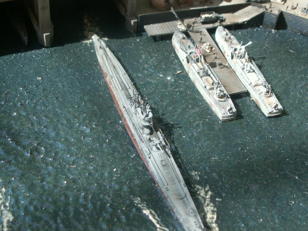 Base U boat 1/700 Pict0218