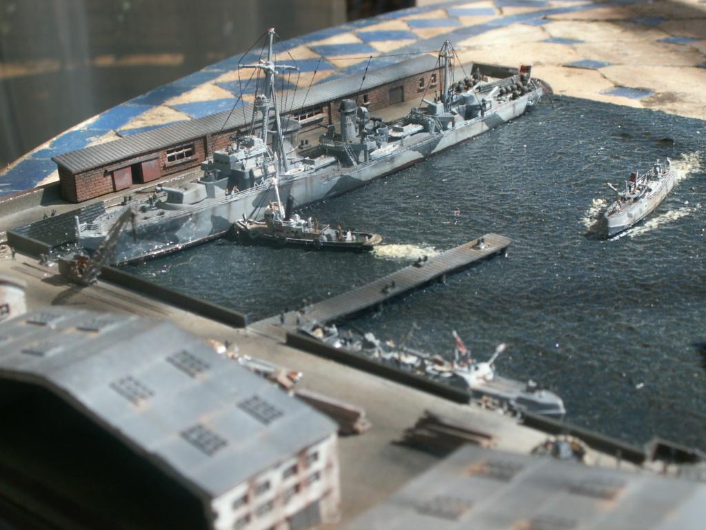 Base U boat 1/700 Pict0219