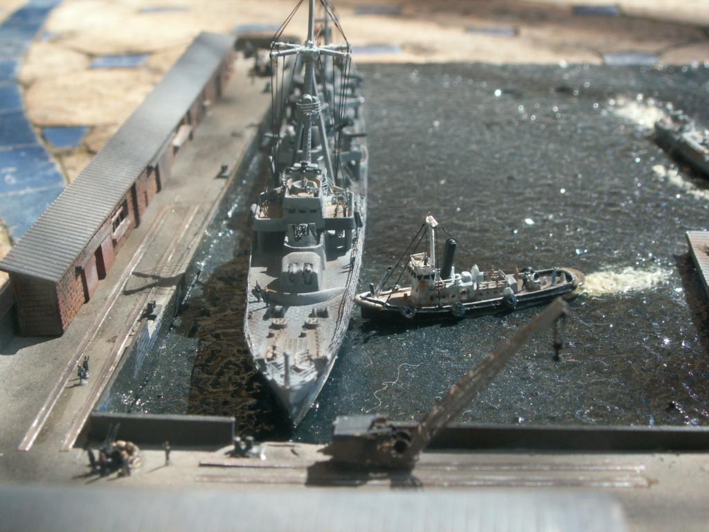 Base U boat 1/700 Pict0223