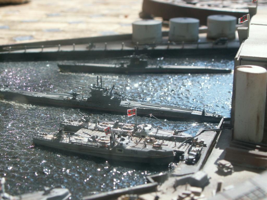 Base U boat 1/700 Pict0225