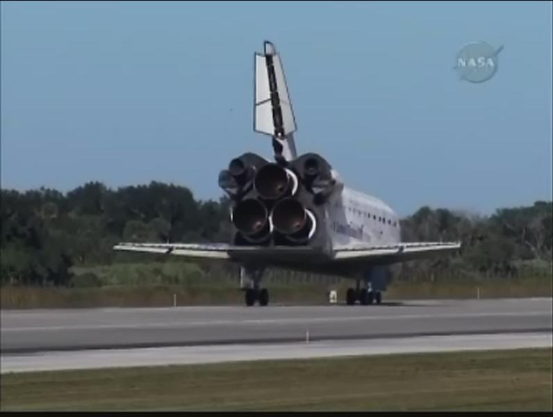 [STS-129] Atlantis : retour sur Terre 27/11/2009 Firefo12