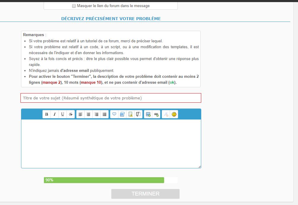 Cellule d'édition message classique dans nos formulaires ? (comme pour FA ?) Cellul10