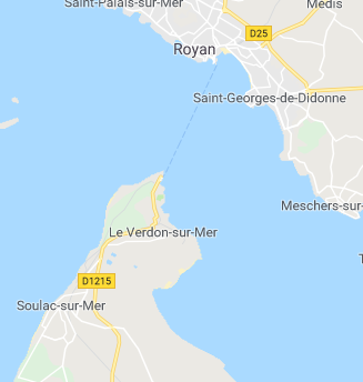 Côte Ouest jusqu'à Deauville Royan10
