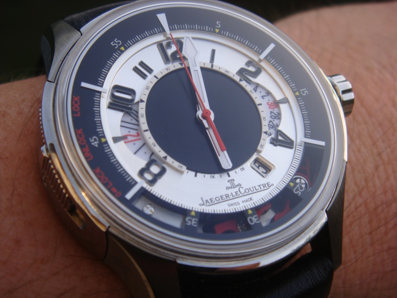 SIHH 2010, Jaeger LeCoultre Master Chrono Dsc01910