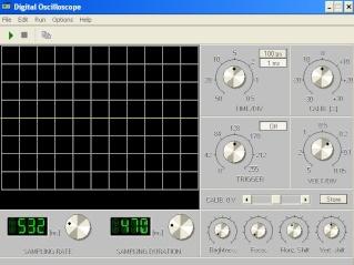 Osciloscop digital Oscilo10