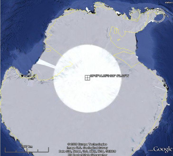 Le Pôle sud, Antarctique Yeux10