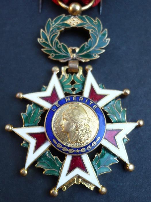 Médaille pour identification 01410