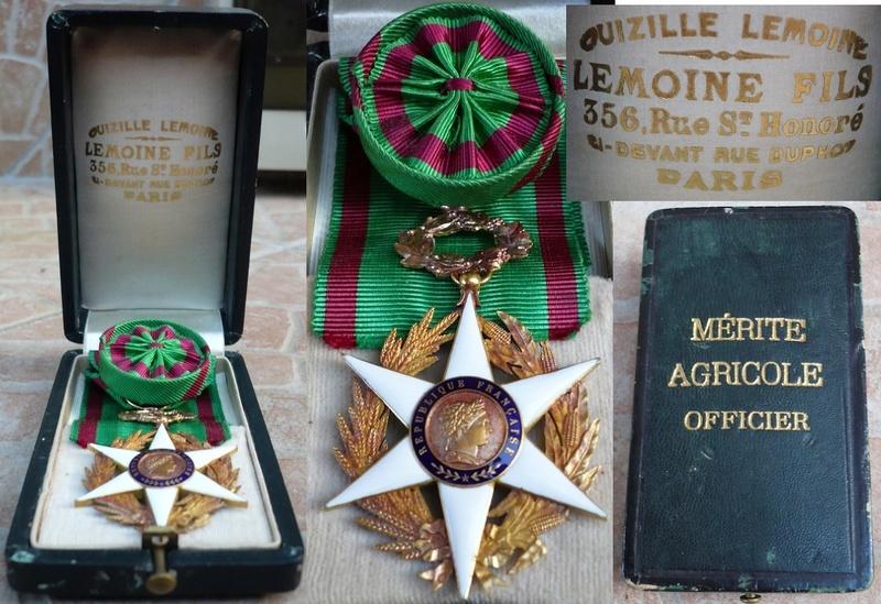Différencier médaille mérite agricole  P1110411
