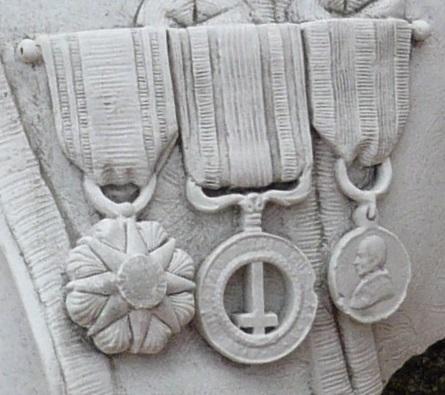 Médaille a un soldat Flamand; zouave pontifical. P1130519