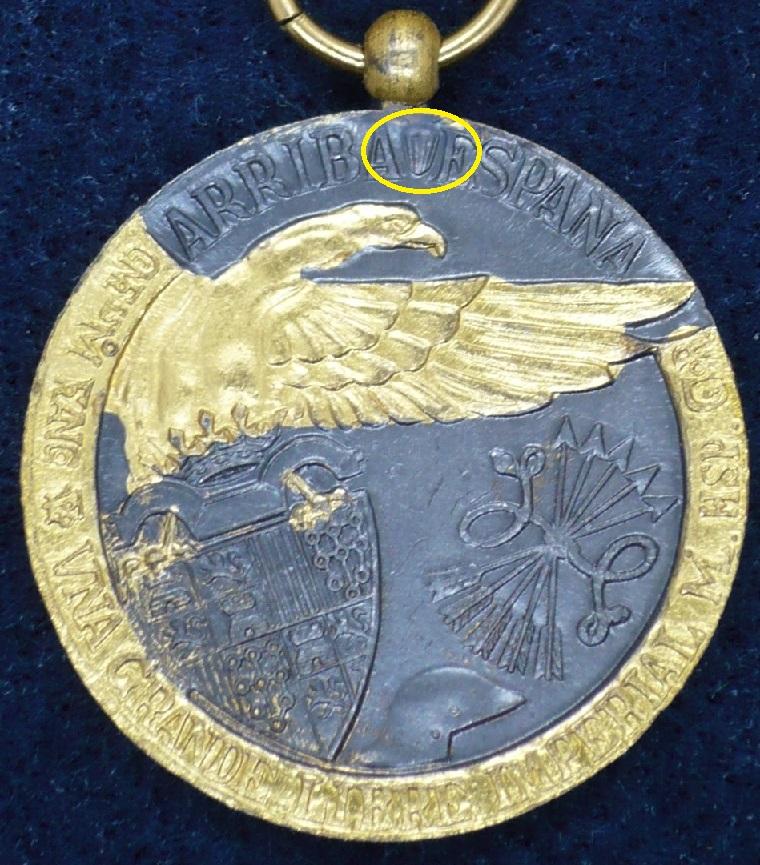Médaille espagnole de 1936  P1140615