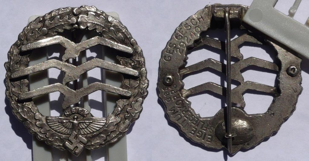 insigne allemand ww2 à identifier svp  P1140910