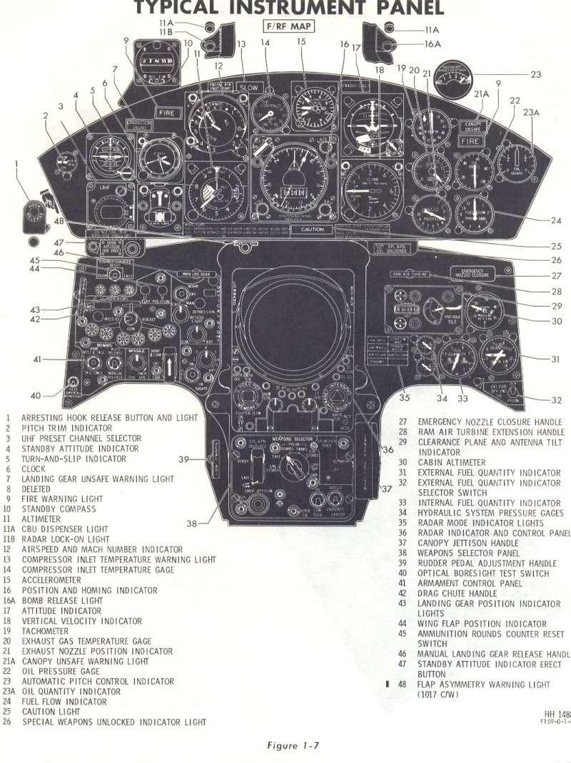 F-104G Cockpit, 1:12 Italeri 104ga11