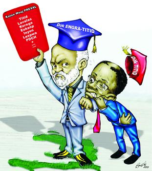 La dérive antidémocratique du Conseil Electoral Provisoire Haitien Ns215210