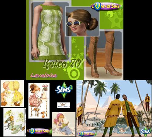 [Site Sims1, 2, 3]  L'UniverSims Maj11
