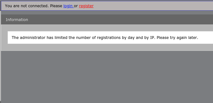 Trouble signing up with my forum Scree138