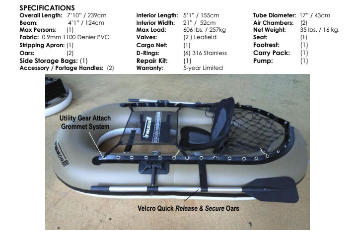 Maxxon Inflatable Boat Sales Screen17