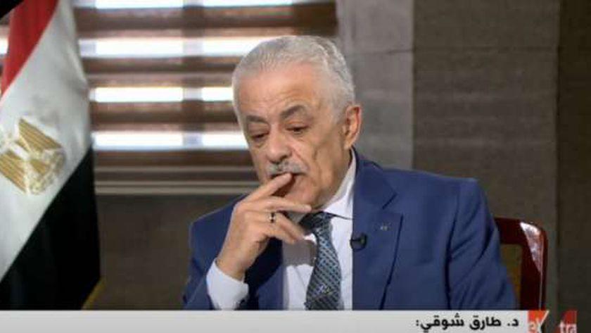 """""""شوقي خضنا التحدى و سنكمله """": بناء تعليم مصري جديد يستغرق من 12 لـ14 عاما 11732710"""