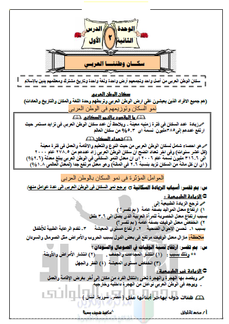 دراسات اجتماعية شرح ممتاز للصف الثانى الاعدادي ترم أول 2020 أ/ محمد الحلوانى 12537710