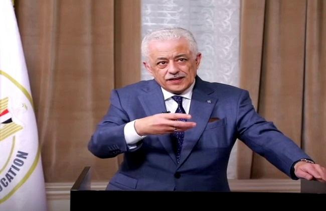 وزير التعليم يكشف شكل امتحانات الثانوية ومحذوفات المناهج ومصير إغلاق المدارس 12612710