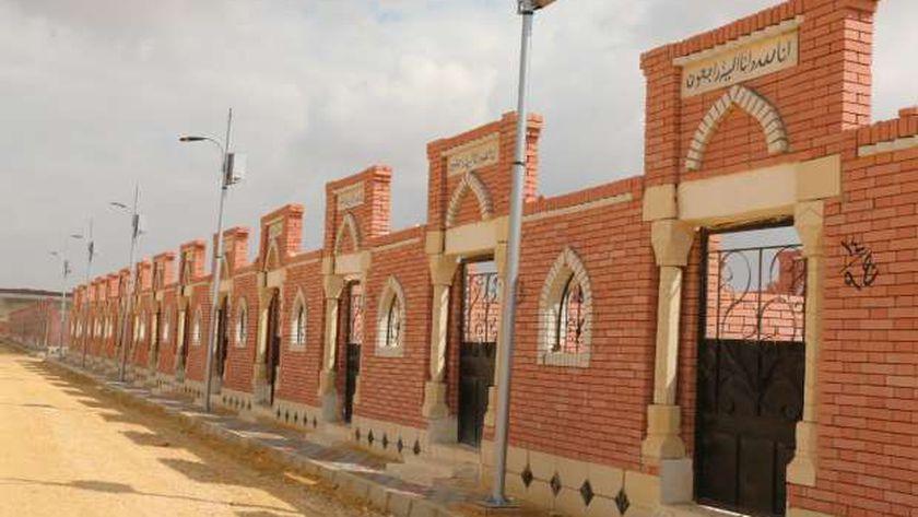 للصدقة أو لأى غرض أسعار ومساحات المقابر الجديدة للمسلمين: 40 مترا بـ54 ألف جنيه 13423010