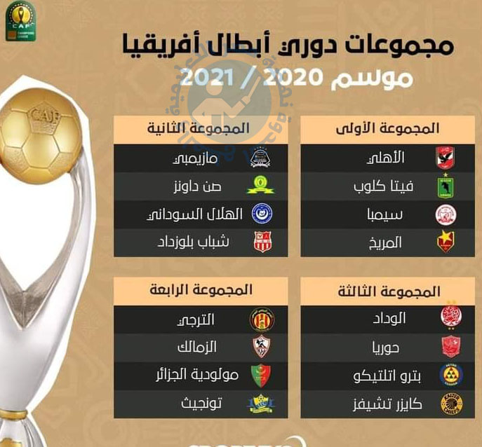 ننشر نتيجة القرعة مجموعات دوري أبطال أفريقيا 2021 13703210