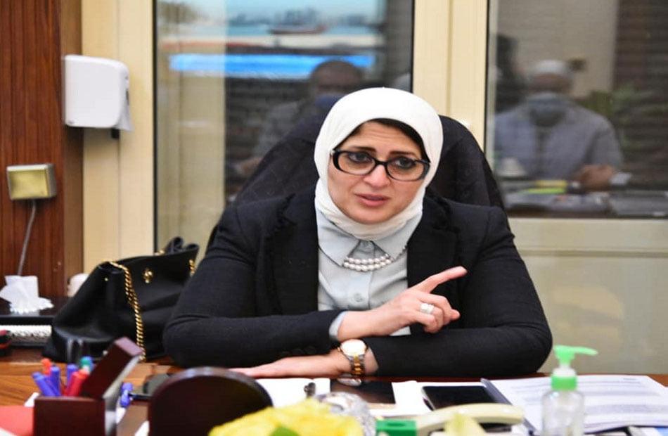 توصيات  وزيرة_الصحة سبب قرارات  وزير_التعليم والحكومة بشأن الامتحانات والدراسة اليوم 15015010