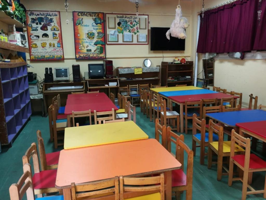 نرصد استعدادات مدارس القاهرة للمنظومة الجديد برتيب مقاعدوضع جلوس  التلاميذ الجديد  وفقًا للنظام الجديد 15788610