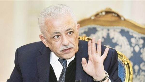 شوقى / لو المدارس قفلت محدش هينجح بنصف منهج وبلا امتحانات 1993310