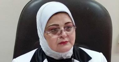 بثينة كشك وكيل وزارة التربية والتعليم في كفر الشيخ  بعد إصابة معلم بكورونا: أجرينا مسحة حرارية لكل الطلاب 20180410