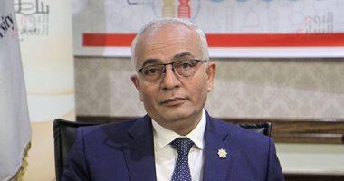 رضا حجازى  عن زيادة بدل المعلمين: يعكس إيمان القيادة السياسية بالمعلم 20180618