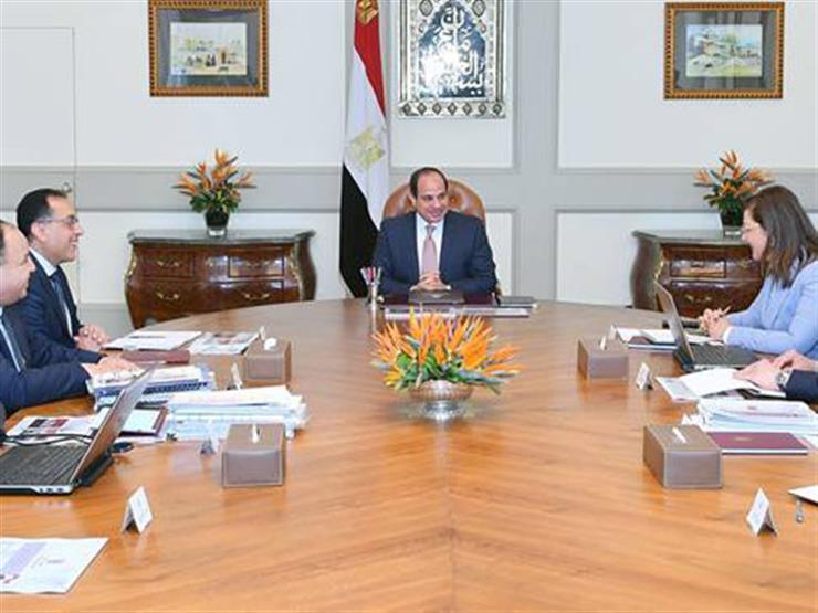 """التفاصيل الكاملة لاجتماع السيسي مع الحكومة  رد أموال المعاشات وإصلاح الأجور""""  2019_310"""
