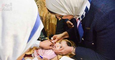 أهلنا بالجيزة غدا.. انطلاق حملة التطعيم ضد شلل الأطفال   والمستهدف 481 ألف طفل 20200211