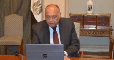 سامح شكرى انهيار سد النهضة سيؤدى إلى أضرار بالغة على دولة السودان 20200413