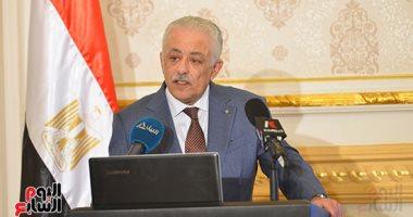 شوقى - عرض خطة العام الدراسي الجديد على رئيس الوزراء 20 أغسطس.. وإعلانها أول سبتمبر 20200649