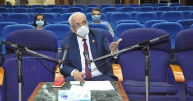 دكتور / حجازى نائب وزير التعليم يتابع تدريب المعلمين على مواد التخصص بالإسماعيلية 20200662
