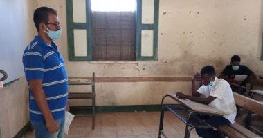 طلاب الثانوية العامة المصرية  ببعثة التعليم بالسودان يؤدون امتحان اللغة الأجنبية اليوم 20200920