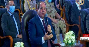 عبد الفتاح السيسى: خطة مختلفة لحضور الطلاب بالعام الدراسى الجديد بسبب فيروس كورونا 20200923